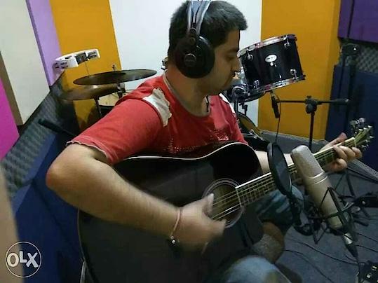 recording at studio #music #piano #pianist #guitar #guitarist #studio #studiorecording