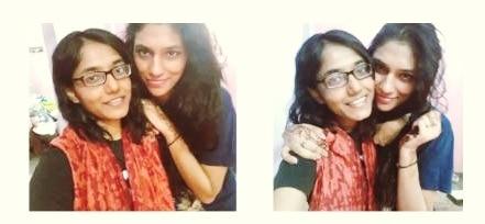 sister love #koovs  #leatherjacket  #womensfashion  #sisterlove  #wanderlust  #love  #blueshirt  #grungestyle #hipsterfashion  #fashionstatement  #koovs #smileday  #grungelook  #forever21india  #forever21  #veramodatop  #koovs #vintagesunglasses#topshop  #forever21 #mattelips  #pinklove  #eyeliner  #roundsunglasses #vintagestyle  #stripes  #fashion #grungestyle #prettylook  s#girlystuff #myntra  #curtain  #veromodaindia   #window  #siblings-love  #photography #delhivibes  #delhiboysandgirls