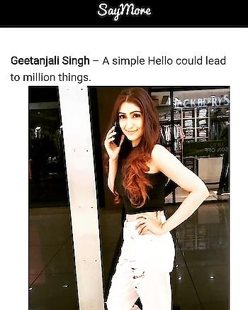 #saymore #magazine #magazineshoot #geetanjalisingh #geetanjalisinghofficial #actress #diltohappyhaiji #starplus #starplusshow #zeetv #google #googlesearchengine