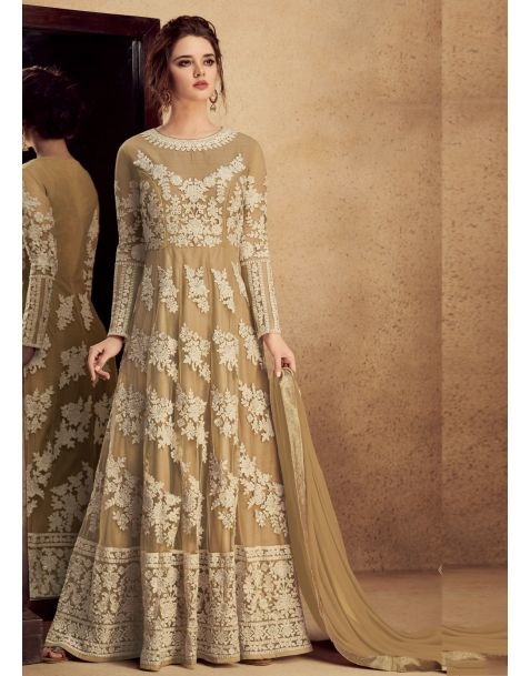 Add an instead updated to your ethnic wordable with Arresting #cream   Partywear Anarkali Style Suit @www.manndola.com  Grab Up To 65% OFF. Get additional 10% OFF on all orders above $199 using code EXTRA10 & extra 15% OFF on all orders above $299 by using code EXTRA15 !!   Light Up your ethnic style with this Cream Party Wear Anarkali Style Suit. This stunning apparel comes with Embroidered heavy silk with pure butterfly net kameez with dyed santoon bottom which will make you feel comfortable.This Garment features Gorgeous Dyed Nazneen with four sided golden border dupatta which completes the Look. #newarrivals #newlaunch #partywear #anarkalisonline  #butterflyet #net #dyednazneen #embroidery #style #photography #instamood #instaupload #fashion #indianfashion #ethnic #usa #india #canada #australia #dubai #uae #mauritius #london #uk #shoponlinenow