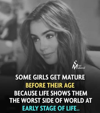 #maturity #girls #strongwomen