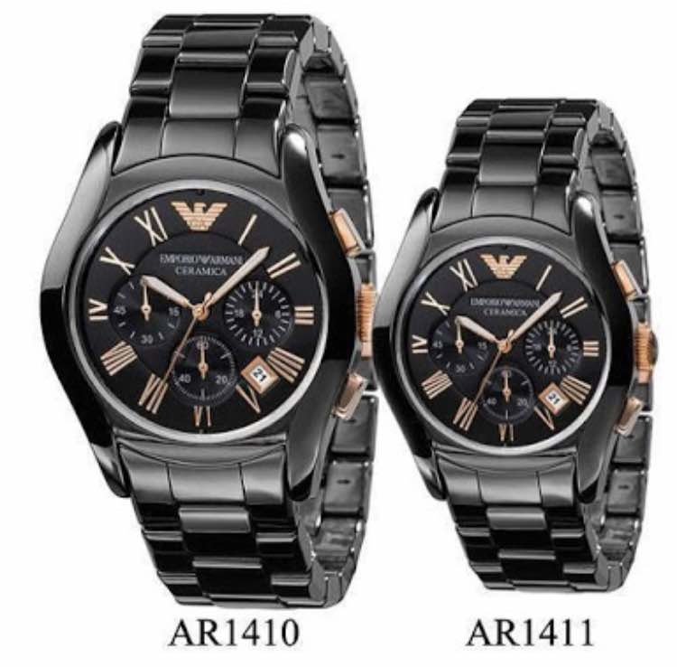 * Emporio Armani * Ceramic 😍 * AR 1410  * AR 1411 * For men * 7A  * Orginal model * Feature; -Case shape- Round  -Band material- Chain (scratch resistant) -Display- Analog, - Chrono- Working, -Machine- Japanese machinery * Price- Rs 2550/-each include shipping  **with Brand Box **  #likeforlikes #likeforlike #likeforfollow #like4follow ##watches