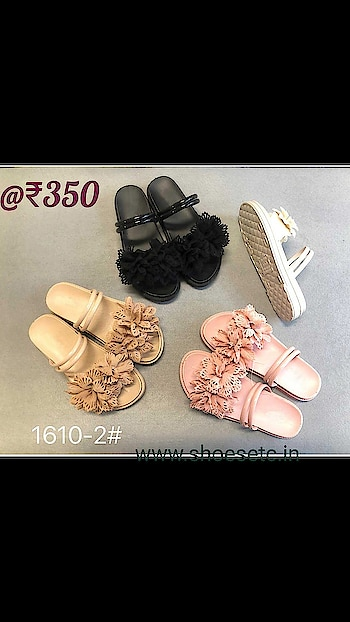 @ ₹350 Visit to Buy➡️https://www.shoesetc.in/product/womens-footwear/fashion-sliders/womens-floral-sliders-slip-ons/  Pink available in all sizes Cash on delivery available across India COD charges +₹60 Shipping ₹ 80 - ₹ 170 depending as per location  #womensshoes #womenwear #womenfashions #womenshoppingonline # #Flatslippers #flatsliders #floralslider #bridalmakeup #womensfootwear #shoesetc #shoelove #shopping #shoppingonline ##wedges #shopaholic #juttis #footwearlove