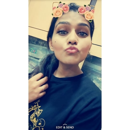 👼 Snap me on: Nidhi_2696 . . I couldn't resist to upload this picture!  .  .  #selfie #beautyblogger #beautyblog #beauty #fashionblogger #fashionista #fashion #snapchat #love #likeforlike #follow #selfies #selflove #selfielover #gionee #ladyboss #blog #blogger #creativity #fashiondiaries #snäpme #snapdiaries #loves #instafashion #instagram #instagrammer #youtuber #videolover #treasuremuse 💓😍 #roposo #soroposo #ropo-love #ropo-good #roposostyle #roposogirl #roposostickers #roposolive #independentwoman