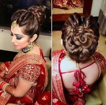 #bridal #hairdo #inspiration
