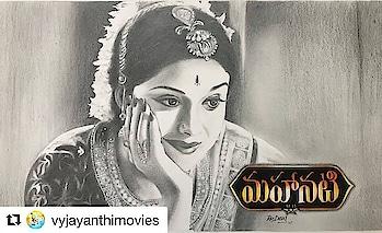 #mahanati  #movieposter  #keerthisuresh