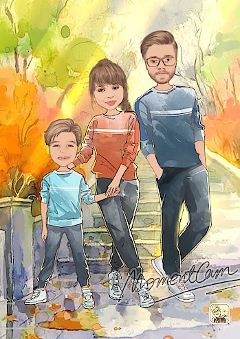 #cartoon-art #filter #love #cousins #family #trendingnow