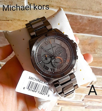 ✅ Michael Kors Brecken MK8465 is a multi functional, latest and very impressive Gents watch ✅  🌟 Michael Kors Men, New model updated & Ready to ship today 🌟  # Michael Kors # For Men # Original Authentic Model # Model - MK8465 Brecken Chronograph # Features-Working chronograph, Gunmetal ion-plated stainless steel case and bracelet, 60 min and 1 min stop watch, 24 hour timing display.  ✨ New model and price updated & Free ship ✨  *AVAILABLE @ Rs 2200FREE SHIP*💫💫...DL K