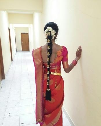 #mysoresilksaree #mysoremallige(Jasmine) #southindian #beingtraditional #lovetobetraditional #southstyle