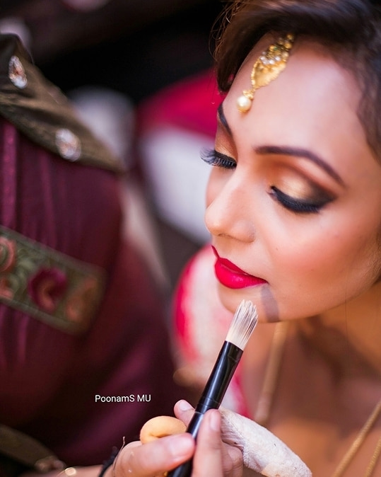 Beautiful bride in making. @aprajitaprasad  Shot by @piyush_tanpure #beautiful #brideinmaking #bride #bridalmakeup #bridestory #brideinspo #brideideas #wedding #weddingmakeup #indianwedding #indianbrides #makeupartistmumbai #makeup  #poonamsmakeup #poonamshahsmakeup #makeupgeek #makeupaddict #makeupjunkie #wedmegood  #weddingsutra #shaadisaga  #bigindianwedding  #wedwise  #weddingz.in #brilliantweddings #weddingvows #shaadimagic #bazaarbride.in #maccosmetics #rubywoo #sephoraindia  #urbandecaycosmetics  #bridesofindia #sephoramumbai  #bridalwear