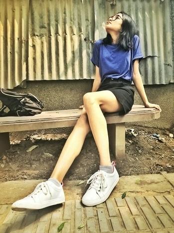 super cool kicks from @docmartin ❤  #indianstyleblogger #shoes #summershoes #whiteshoes #whitesneakers #whitelove #white