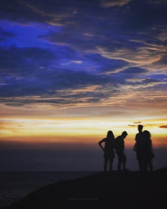 #sunset at #gokarna  #beach #beachdiaries #traveldiaries #blogger