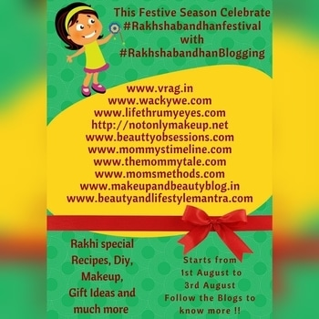Festive season is on full swing in #india and we #love to celebrate each and every festival as they are synonyms of #happyfaces, #familyreunions. ° ° Let's celebrate the sibling bond on this RAKSHA BANDHAN. Indulge yourself in the amazing #festiveblogging series by all beautiful bloggers 😍. Sip a cup of coffee ☕ and turn on the notifications for some amazing fun-filled ladies session and trust me this will be fun 💜💜 ° ° A festival which symbolise the strong bond of Brother and Sister. This #RakshaBandhan we #indianbloggers are bringing #festiveblogging for our readers 👬👭 Do join us and be a part of our series.  There is huge variety here. You will get #DIY, #Sweets, #Choclates, #Gift ideas #history and some emotional #stories.  Happy Rakshabandhan and enjoy the #festivities with your #sibling. Follow me on instagram as @yogeetarane  ° ° ° #blogger #instablogger #bblogger #desiblogger #bloggersofinstagram #bloggersofig #igers #igersindia #konkanigers #konkan #konkanblogger #puneblogger #puneigers #sponsors