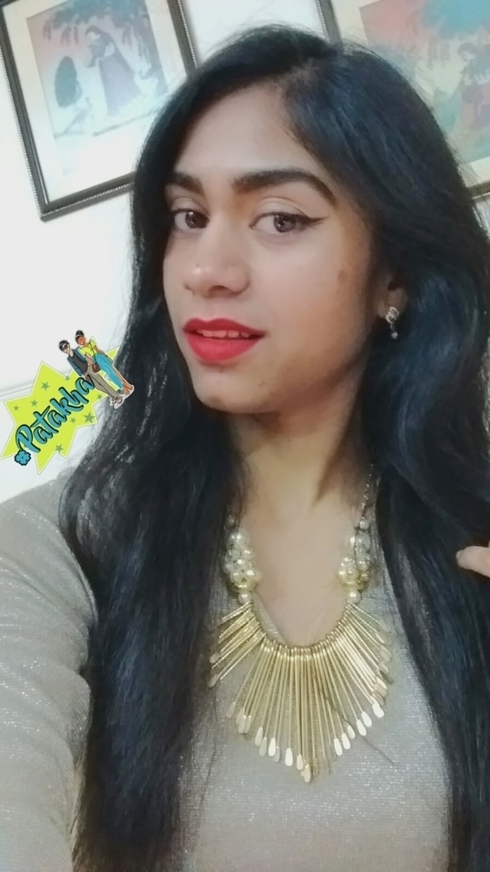 Red Lips Fun #NehhaPendse