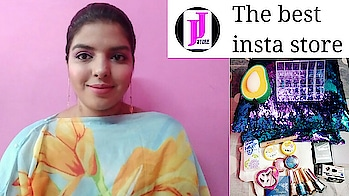Jyoti jiya store haul. Video is up on my channel. Do check it out. My youtube channel link is in my profile. @jyotijiyastore an insta store.  #haul #shriyashukla #jyotijiyastore #affordablemakeup #affordableproducts #review #makeuphaul #nailpaints #glitternailpolish #sequincushion #lipstick #lipstickholder #acrylicholder #geleyeliner #compact #mascara #facialsponge #youtube #video #kissbeauty #glam21 #eyeshadows #blueheaven #colorblast #roposoloves #roposotalks #roposo #SoRoposo #lookgoodfeelgood