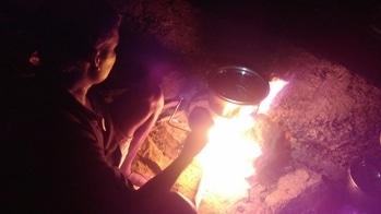 Making food for hungry Trekkers. Camping lovers at Maruti wadi water sports center near Igatpuri Maharashtra   Regard  Sameer gosavi =9029670164 9820288473 www.raftingonvaitarna.com vaitarnarafting@gmail.com