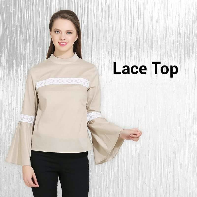 Brown top with lace at front and sleeves. Rs. 500 /- #brown #browntop #womentop #womenapparel #shopnowonline #shoppingonline #womenfashions #beautydiaries #befashionastic #fashionfabels #picoftheday #staystylish #stayclassy #trendalert #trendyfashion #likeforfollow #missgudi