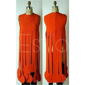 #longtopstyle#sleeveless#backpotlibuttonsdetailing##fringescreativity#inspiredbypendulumwallclock#creativepattern#creativestyle#estiloforlife
