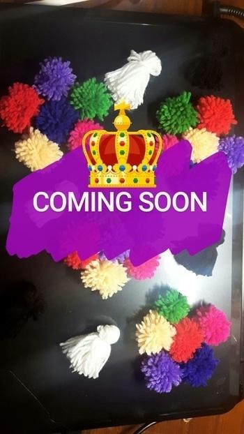 : COMING SOON #pompoms #colourful #diy #blogger #blogging #diyblogger #indianblogger #indianyoutuber #kolkatablogger #kolkatayoutuber