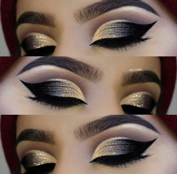 gillter eye shadow collection