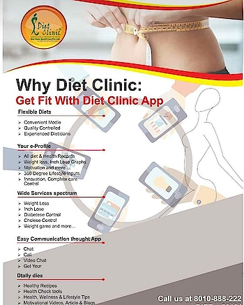 ✅#DietClinic brings you personalized #dietplans, recipes, tools and more for a #healthy lifestyle and losing #weight. 👉Based on 14 years of experience, our diet for #weightLoss helps you lose 3-4 kgs!  ➡️Get it for 3000 instead of 3500!  Download #DietClinic Mobile App Now! https://goo.gl/4DjJWw & Use code DC500 ☎️Please #Call at 88-2626-0707 📞Toll-Free: 8010-888-222 📲Download #App: http://app.clinic.diet 🌎Website- http://www.onlinediets.in ➡️Book Your #Appointment: https://goo.gl/jmwWGu Diet clinic Gujranwala Town Call us 8800997701,8800997703 Visit here :- 224 Gujranwala Town part 3 North Delhi 110009