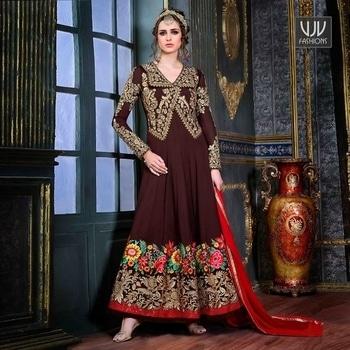 Buy Now @ https://goo.gl/cs4o6e  Pleasance Maroon Color Georgette Anarkali Suit  Fabric - Georgette  Product No 👉 VJV-HOTL5775  @ www.vjvfashions.com  #dress #dresses #bollywoodfashion #celebrity #fashions #fashion #indianwedding #wedding #salwarsuit #salwarkameez #indian #ethnics #clothes #clothing #india #bride #beautiful #shopping #onlineshop #trends #cultures #bollywood #kollywood #anarkali #anarkalisuit #beauty #shopaholic #instagood #pretty #vjvfashions