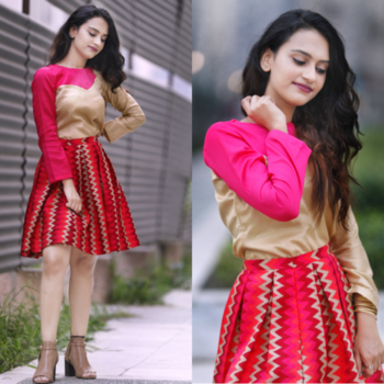Tried something different out of my comfort zone. For @wooplr campaign showcasing love for colours and prints.!! 🌹 #MixItUp .. #allshelove#wooplrxyou#wooplrinfluencer#wooplr#colours#brightside#of#me#triedsomethingdifferent#new#keepliking#follow#followme#keepfollowing#allsheloveblog