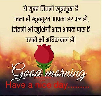 this is for nice day wishes