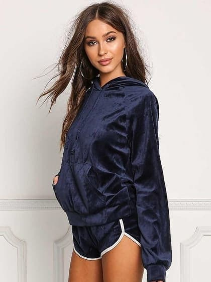 Leisure Hooded Tracksuit  #So #Stylish  #PRODUCT INFORMATION  This Blue coloured Track Suit is what you need in you wardrobe!     #ATTRIBUTES  Material - Blended Polyester Color - Blue  COD Available | FREE Return  Check it now https://dreamjourney.wooplr.com