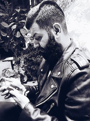 A beard is sign of patience. #bearded-men   #beard   #photoshoot   #workmode   #love-photography  #men   #men-fashion   #beard-model   #beardlove #beardoholic  #men-looks   #black   #leatherjacket   #sexylook   #ropo-love   #black-and-white   #photography   #beardlove  #beardstagram   #sexy    #beardsquad   #ropo-good   #ropo-style   #beardedmensfashion  #hot    #beardeddragon    #beardedlifestyle