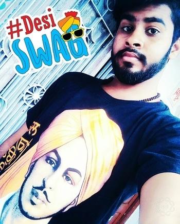 #mainfanbhagatsinghdajeranaisigulamikarda##cool #swag #thephotooftheday #beardlover #like4like #like4follw #desiswag