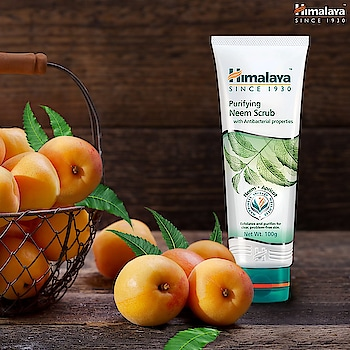 #Exfoliate  #nourish #and #moisturize #your #skin #with #Himalaya #Purifying #Neem #Scrub. #ToughButGentle