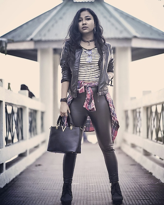Hey fashionistas, my new blog post is all about how to style a ever trending leather pant. Go check the blog from my profile link. I hope you will love it.   #guwahatiblogger #guwahati #leather #winterlook #boots #leatherjacket #wiwt #picoftheday #photography #fashionblogger