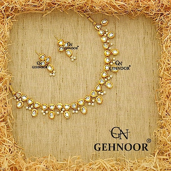 Simplicity is sometimes the way to go and we totally believe in the importance of making a Statement with Simplistic designs that provides the right amount of Drama to any attire! 💞 . Presenting our bestselling Kundan and Fine Pearl Necklace with Matching Minimalist Earrings for any occasion! 👑 . Link in Bio! 🌐 . www.gehnoor.com 💻 . FREE SHIPPING anywhere in India 🚙 . Cash On Delivery Available across India 💲 . WhatsApp at 07290853733 📱 . www.facebook.com/Gehnoor/ . gehnoor@gmail.com 📝 . #necklace #earrings #goldjewellery #kundan #kundanjewellery #indianjewellery #india #indianbride #indianwedding #asianwedding #traditionaljewellery #jewelry #jewellery #onlineshopping #shopping #jewellerygram #photooftheday #postoftheday #trendsetter #ontrend #everydayphenomenal #usa #canada #uk #saudiarabia #uae #gehnoor #necklace #earrings