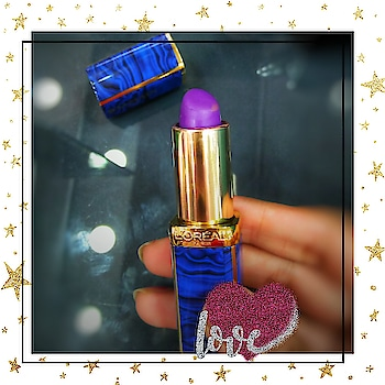 💄A bold statement lipstick will take you places💄 💄This one is from @lorealmakeup and @balmain collaboration shade Freedom.  💄This shade will suit most Indian Skin tones and it is also similar to the pantone color of the year Ultra Violet.  💄You can also create an ombre lip using a lavender shade in the center.  💄You can get your hands on this limited editions @lorealindia lipstick at @newbeautycentreofficial  #L'Oreal #lorealxbalmain #freedom #packagingdesign  #blogger #bloggerstyle #bloggerlife #bblogger #beautyblogger #lifestyle #lifestyleblogger #fashionblogger #fashionista #instafashion #youtuber #youtube #instagood #instadaily #picoftheday #bloggers #instablogger #lifestylebloggers #bbloggers #tutorial #indianbeautyblogger #lipstick #makeupbloggers #indianmakeupblogger #lipart