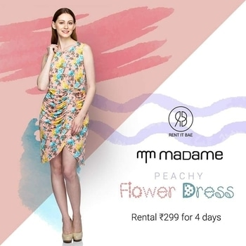 Make Summers pleasant with gorgeous flower print dress!!  #RENTITBAE #rent #westerndress #designerwear #glamup #couture #instagram #instagood #instadaily #ootd #instalove #stylegram #fashioninspo #womenswear #ootdwomen #womenfashion #womenstyle #dagphoto #fashionstyle