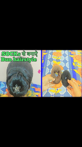 click here to see full video https://youtu.be/2BGDgbM0p7s #easyhairstyle #easyhairstyles #messybun #bunhairstyle #diy #diyhairstyles