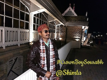 """#crownboysourabh is in #shimla , the queen of hills. Shimla is not only a capital city but it is like a heaven on this earth.Shimla is like honeymoon preferred place for a number of North Indians.  You can feel the beauty of nature along with the toughness of human nature to survive. If you really want to experience the work and life  of a """"""""Padadi"""""""". come and #travel_with_daisyson  to explore this Paradise. . . . #travelblog #travelling #travel #travel_with_daisyson  #daisyson #daisyson_org #crownboy #crownboysourabh #shimlatrip #shimladiaries #mallroadshimla #himachalpradesh #himachalpradeshdiaries #himachali #pahadi #pahadidiaries"""