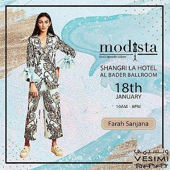 Edgy sophisticated cuts with unique printed outfits by #FarahSanjana on 18th January from 10am to 8pm at Shangri-La Hotel, AL Bader Ballroom... . . . #fashion #fashionexhibition #dubailuxurylifestyle #Vesimi #Modista #dubaiofficaldubai