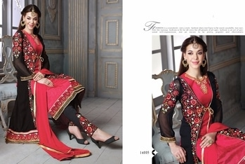 *Sale…….Sale…..Sale* ….   *Heavy Georgette Suit*    *Price:  1150/-*   Total   05  Design …. *Ready To Ship*  ….  👆🏻👆🏻👆🏻🌹🌹👆🏻👆🏻👆🏻