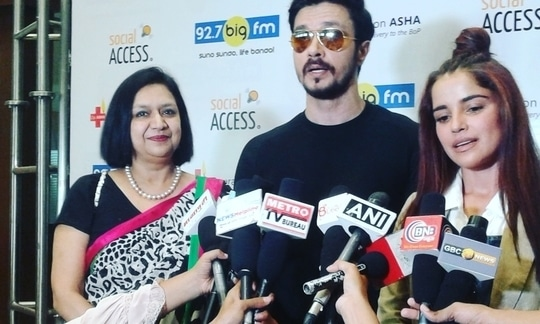 The TB Awareness campaign we launched with BIG FM along with actors Darshan Kumar and Piaa Bajpai for Operation Asha