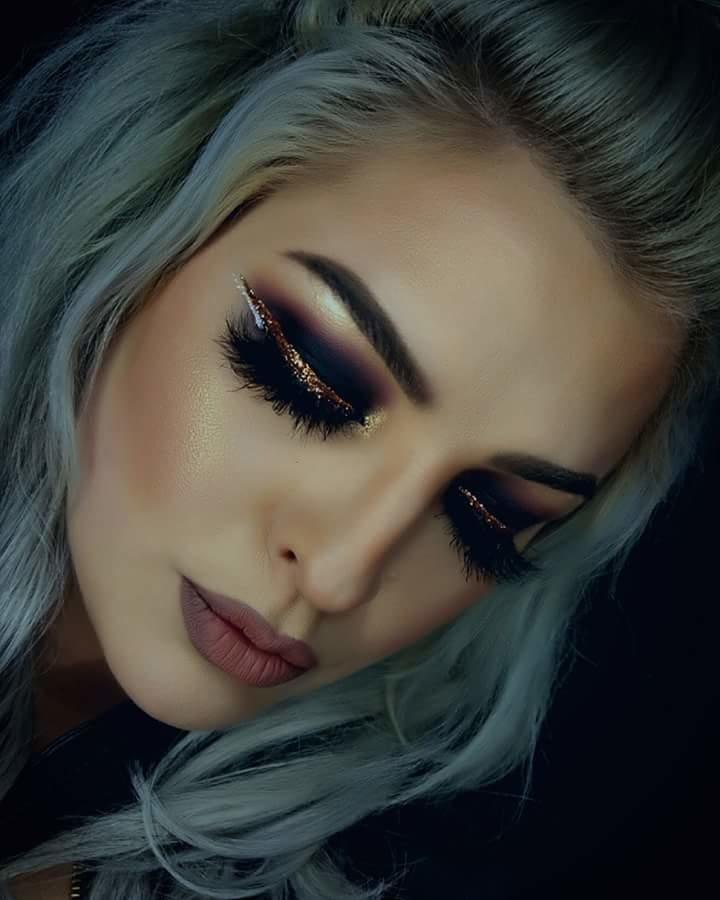 #makeuptips #makeupartistindia #pretty girls #coolcolors #eye-makeup #lashesonpoint #smokeyeyemakeup #glittereyes #fashionables #bebeautifulbeyou #stayclassyandsassy #stayfocused #keepfollowingformore