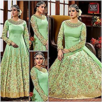 Buy Now @ https://goo.gl/esVBWt  Fantastic Sea Green Floor Length Anarkali Suit  Fabric- Art slik  Product No 👉 VJV-HOT4225  @ www.vjvfashions.com  #dress #dresses #bollywoodfashion #celebrity #fashions #fashion #indianwedding #wedding #salwarsuit #salwarkameez #indian #ethnics #clothes #clothing #india #bride #beautiful #shopping #onlineshop #trends #cultures #bollywood #anarkali #anarkalisuit #beauty #shopaholic #instagood #pretty #vjvfashions