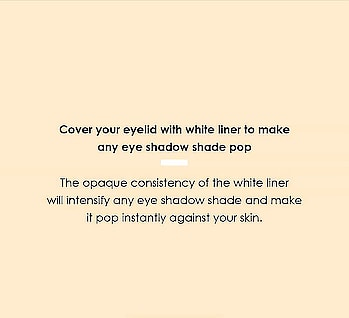 This creates a base for your eye shadow and makes it pop! #Hacks #Tricks #eye-makeup #eyeshadow #eyeshadowtips