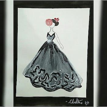 Black is Elegant❤ #wow #designer #fashion