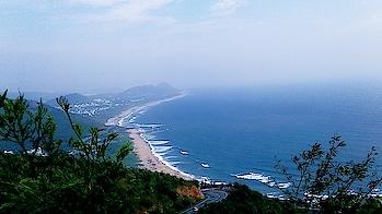 #traveldiaries #vizaglove #captured #seaside #bluesea