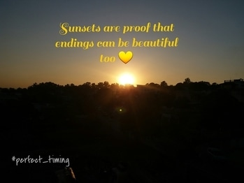 #click📷 #picture_of_the_day📸 #sunset🌅 #sunsets_are_proof_that_endings_can_be_beautiful_too💛 #calm #serendipity 😏 #dehradundiaries 💙
