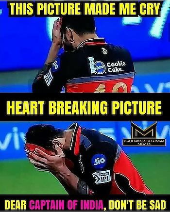 #heartbreaking #image #of #viratkohli #dontworry #champ