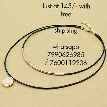 Sale... Sale... Sale  😘Coins rope choker for women 😘😘😘  Just at 145/- with free shipping😱  🤗🤗🤗 DM or whatsapp 7990626985 / 7600119206 for more details!!!  #pallscreation #choker #tasselnecklace #tassels #necklace #statementnecklace #statementjewelry #jewelryaddict #jewelryoftheday #jewelry #jewellery #india #indianculture #indianwear #indian #gujju #gujarat #bombay #rajasthan #necklace #indianjewelry #onlinesale #sale #shopping #Onlineshopping #picoftheday #girlsfashion #clothing #gold #ahmedabad