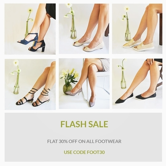 Experiencing those Mid week shopping pangs ? 👓👜👠👒 Here's just what you wanted to hear !  FLAT 30% on all footwear till the end of the week ! Use code FOOT30  Pick your favorites before your sizes run out! 💃 . . . . .  #discount #offer #flashsale #sale #shopping #shop #shopnow #shoponline #shopaholic #trending #trend #footwear #accessories #trendsetter #stylish #stylefile #bestylish #fashionable #fashionista #instafashion #fashiongram #stylegram #delhigram #blogger #indianfashionblogger #igersindia #fashion #roposo #wooplr #jokerandwitch #roposofiles #roposofashion #roposostyle #roposolove #roposostylefiles #roposoblogger #soroposo